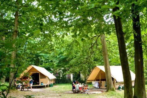 Huttopia Camping Versailles Frankrijk